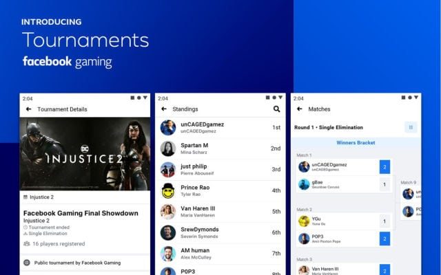 Tournaments | Η νέα λειτουργία του Facebook