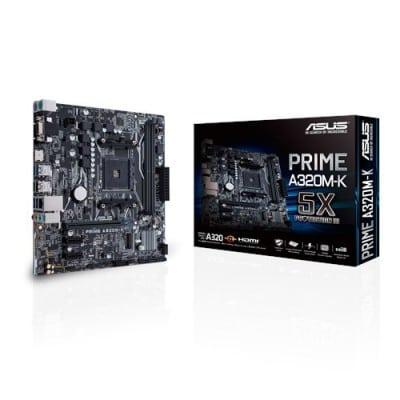 ASUS MB PRIME A320M-K μητρική κάρτα Υποδοχή AM4 Micro ATX AMD A320