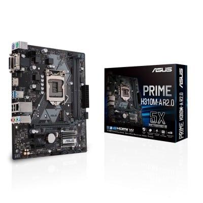 ASUS PRIME H310M-A R2.0 μητρική κάρτα LGA 1151 (Υποδοχή H4) Micro ATX Intel® H310