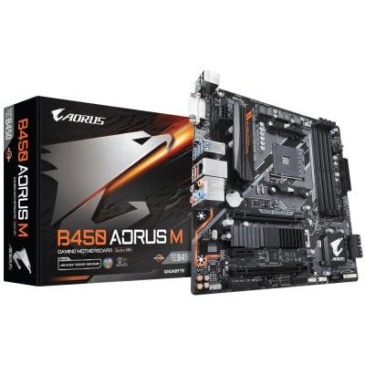 Gigabyte B450 AORUS M (rev. 1.0) μητρική κάρτα Υποδοχή AM4 Micro ATX AMD B450