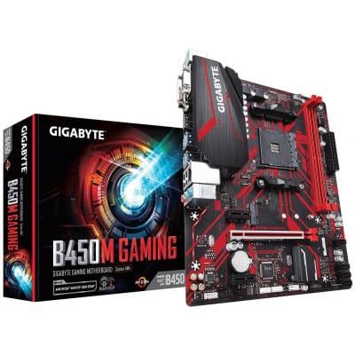 Gigabyte B450M GAMING μητρική κάρτα Υποδοχή AM4 Micro ATX AMD B450