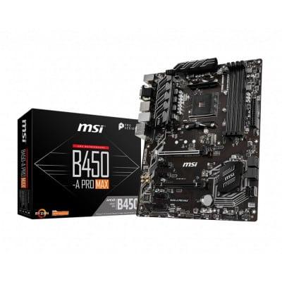 MSI B450-A Pro Max μητρική κάρτα Υποδοχή AM4 ATX AMD B450