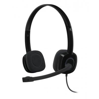 Logitech H151 ακουστικό Head-band Δίωτος (δύο ακουστικών εξόδων) Μαύρο