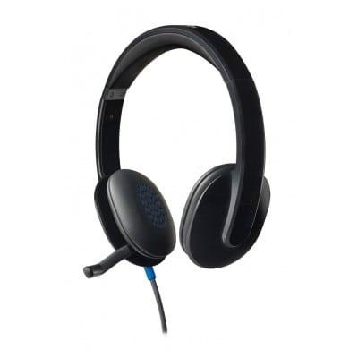 Logitech H540 ακουστικό Head-band Δίωτος (δύο ακουστικών εξόδων) Μαύρο