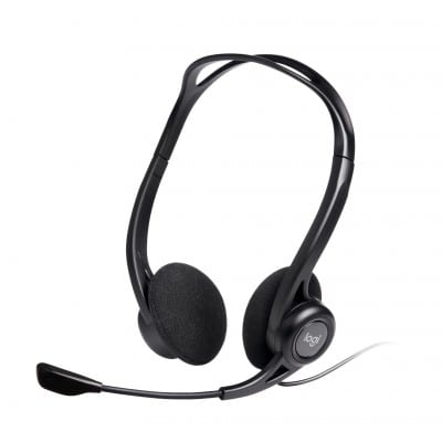 Logitech 960 USB ακουστικό Head-band Δίωτος (δύο ακουστικών εξόδων) Μαύρο