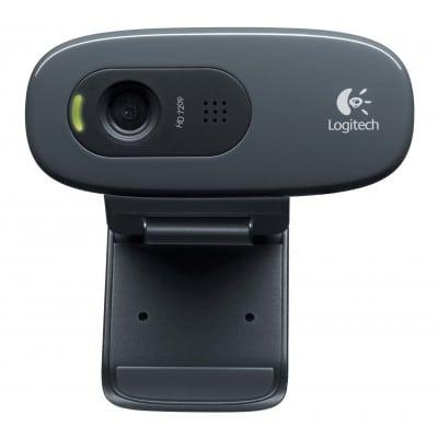 Logitech C270 κάμερα web 3 MP 1280 x 720 pixels USB 2.0 Μαύρο