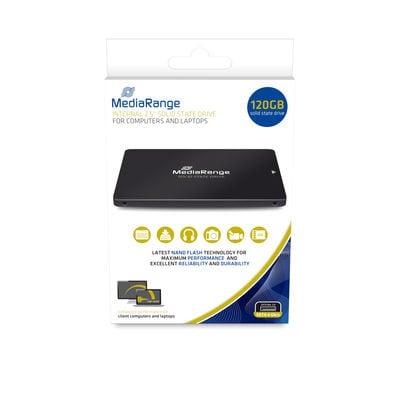 MediaRange MR1001 internal solid state drive 2.5'' 120 GB Serial ATA III TLC