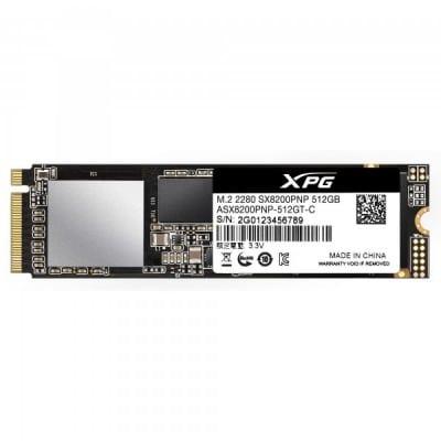 XPG SX8200 Pro M.2 512 GB PCI Express 3.0 3D TLC NVMe