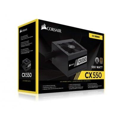 Corsair CX550 power supply unit 550 W ATX Black