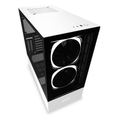 NZXT H510 Elite Midi ATX Tower White