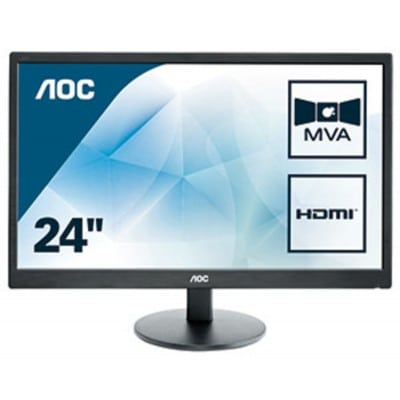 AOC Basic-line M2470SWH LED display 59,9 cm (23.6'') 1920 x 1080 pixels Full HD Μαύρο