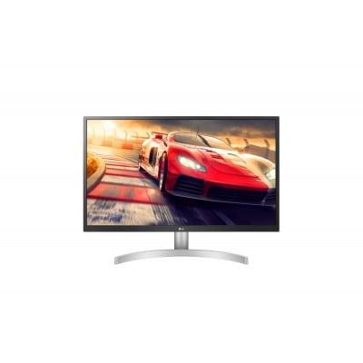 LG 27UL500-W επίπεδη οθόνη 68,6 cm (27'') 3840 x 2160 pixels 4K Ultra HD LED Ασημί