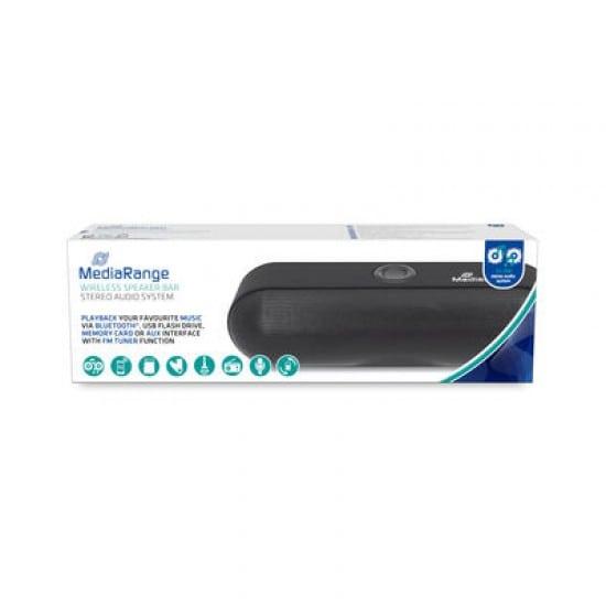 MediaRange MR734 portable speaker 6 W Stereo portable speaker Black