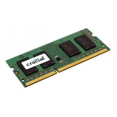 Crucial 8GB DDR3 SODIMM memory module DDR3L 1600 MHz