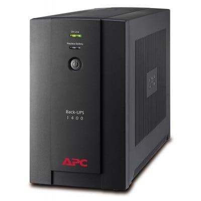 APC Back-UPS τροφοδοτικό αδιάλειπτης παροχής ισχύος (UPS) Line-Interactive 1400 VA 700 W
