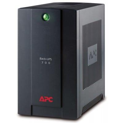 APC Back-UPS τροφοδοτικό αδιάλειπτης παροχής ισχύος (UPS) Line-Interactive 700 VA 390 W 4 Έξοδος (οι) εναλλασσόμενου ρεύματος