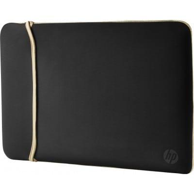 HP 14'' Neoprene Reversible Sleeve τσάντα φορητού υπολογιστή 35,6 cm (14'') Θήκη Sleeve Μαύρο, Χρυσός (Χρυσό)