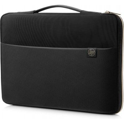 HP 14'' Carry Sleeve Black/Gold τσάντα φορητού υπολογιστή 35,6 cm (14'') Θήκη Sleeve Μαύρο, Χρυσός (Χρυσό)