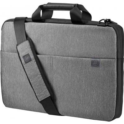 HP Signature τσάντα φορητού υπολογιστή 39,6 cm (15.6'') Χαρτοφύλακας Μαύρο, Γκρι