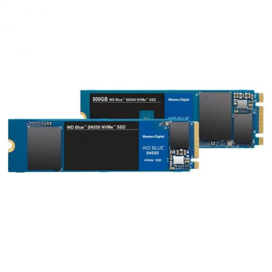 Western Digital WD Blue SN550 NVMe M.2 500 GB PCI Express 3.0 3D NAND