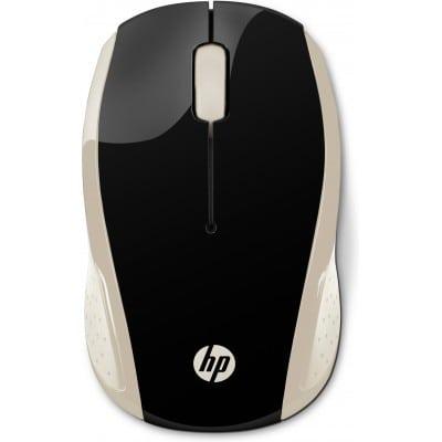 HP 200 ποντίκι RF Wireless Οπτικό 1000 DPI Αμφιδέξιο