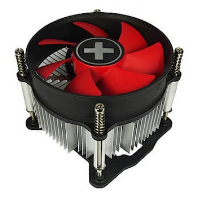 Xilence XC032 Processor Fan 9.2 cm Black, Gray, Red