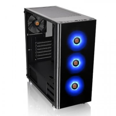 Thermaltake V200 TG RGB Midi Tower Black