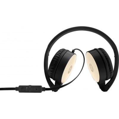 HP H2800 Ακουστικά Head-band Μαύρο, Χρυσός (Χρυσό)