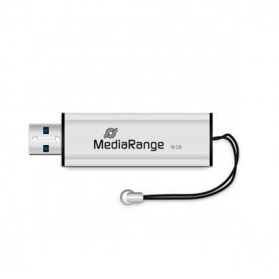 MediaRange MR915 USB flash drive 16 GB USB Type-A / Micro-USB 3.2 Gen 1 (3.1 Gen 1) Black,Silver