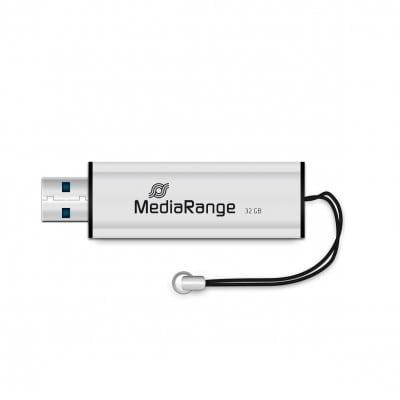 MediaRange MR916 USB flash drive 32 GB USB Type-A 3.2 Gen 1 (3.1 Gen 1) Black,Silver