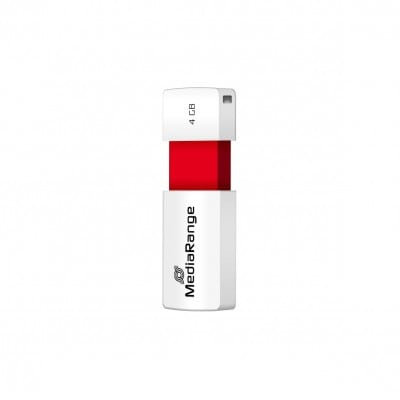 MediaRange MR970 USB flash drive 4 GB USB Type-A 2.0 Red,White