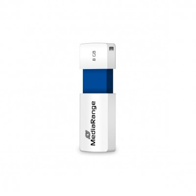 MediaRange MR971 USB flash drive 8 GB USB Type-A 2.0 Blue,White