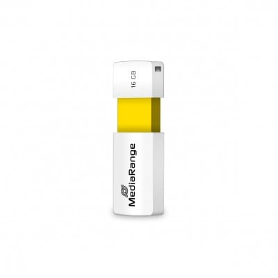 MediaRange MR972 USB flash drive 16 GB USB Type-A 2.0 White,Yellow