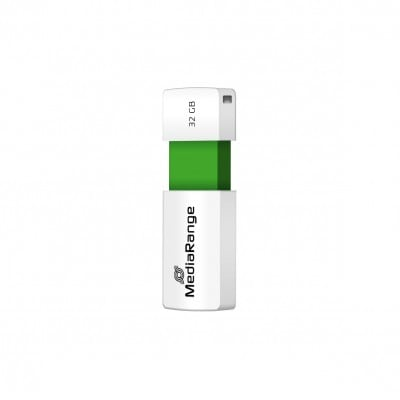 MediaRange MR973 USB flash drive 32 GB USB Type-A 2.0 Green,White