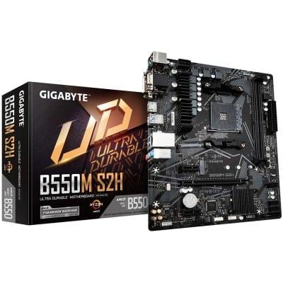 Gigabyte B550M S2H Υποδοχή AM4 micro ATX AMD B550