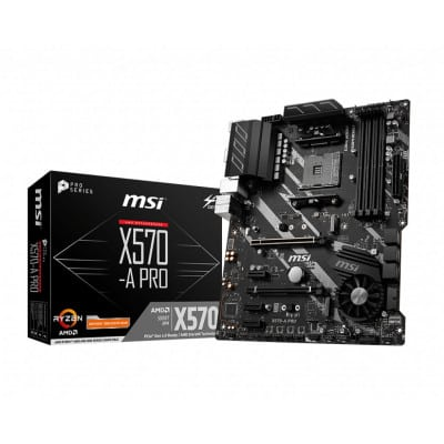 MSI X570-A PRO μητρική κάρτα Υποδοχή AM4 ATX AMD X570