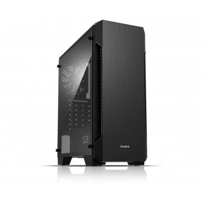 Zalman S3 κουτί υπολογιστή Midi Tower Μαύρο
