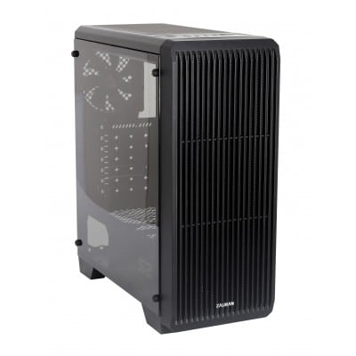 Zalman S2 Midi Tower Case - Black Window Μαύρο