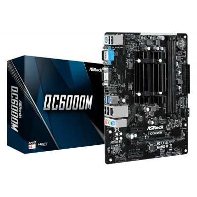 Asrock QC6000M Socket FT3 micro ATX