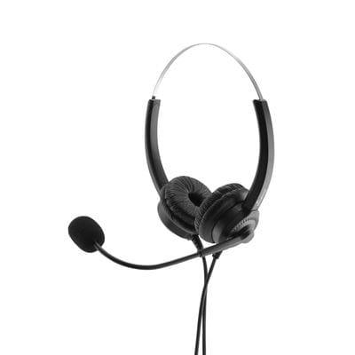 MediaRange MROS304 headphones/headset Head-band Black, Silver
