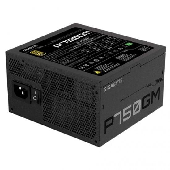 Gigabyte GP-P750GM μονάδα τροφοδοσίας 750 W 20+4 pin ATX ATX Μαύρο
