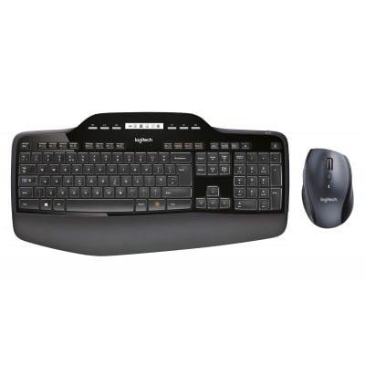 Logitech MK710 πληκτρολόγιο RF Wireless QWERTY ΗΠΑ Διεθνές Μαύρο