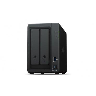 Synology DiskStation DS720+ NAS/storage server J4125 Ethernet LAN Desktop Black