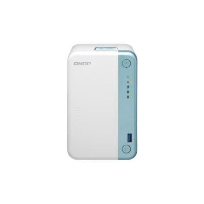 QNAP TS-251D J4005 Σύνδεση Ethernet/LAN Tower Λευκό (Άσπρο) NAS