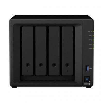 Synology DiskStation DS920+ NAS/storage server J4125 Ethernet LAN Mini Tower Black