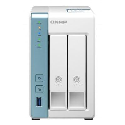 QNAP TS-231P3 AL314 Σύνδεση Ethernet/LAN Tower Λευκό (Άσπρο) NAS
