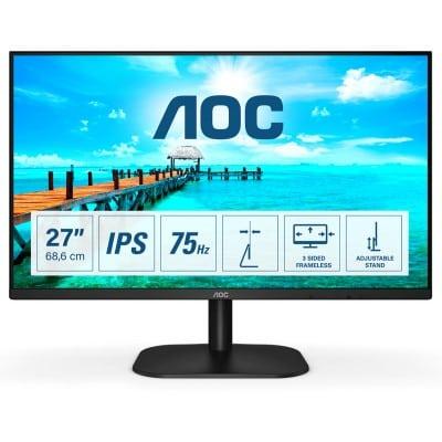 AOC Basic-line 27B2DA LED display 68,6 cm (27'') 1920 x 1080 pixels Full HD Μαύρο