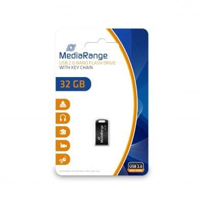 MediaRange MR922 USB flash drive 32 GB USB Type-A / Micro-USB 2.0 Black