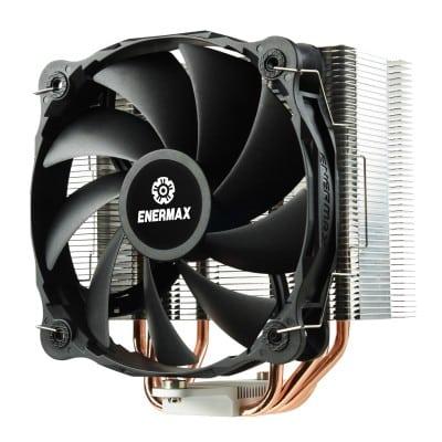 Enermax ETS-F40-FS computer cooling component Processor Cooler 14 cm Aluminium, Black