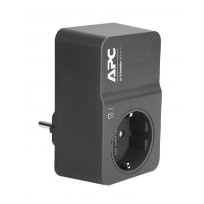 APC PM1WB-GR προστατευτικό μεταβολής τάσης Μαύρο 1 Έξοδος (οι) εναλλασσόμενου ρεύματος 230 V